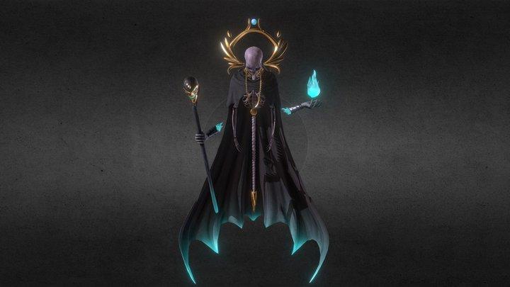 Sorcerer Concept B 3D Model
