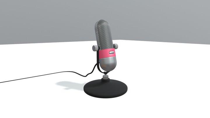 Microfoon1 3D Model