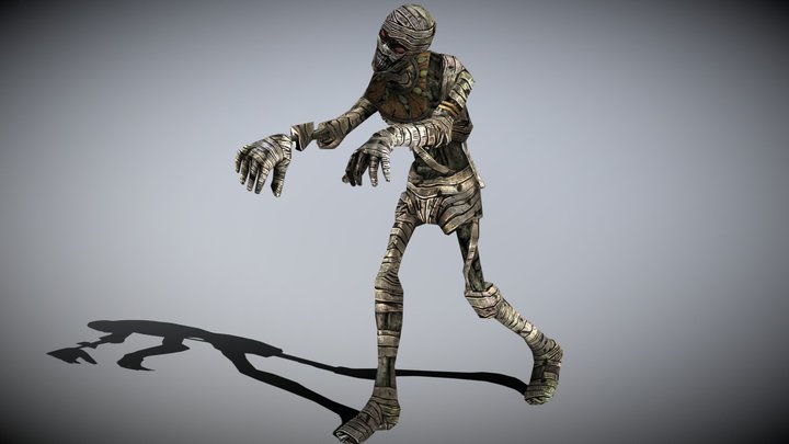 3DRT - Mummy monster - 02 3D Model