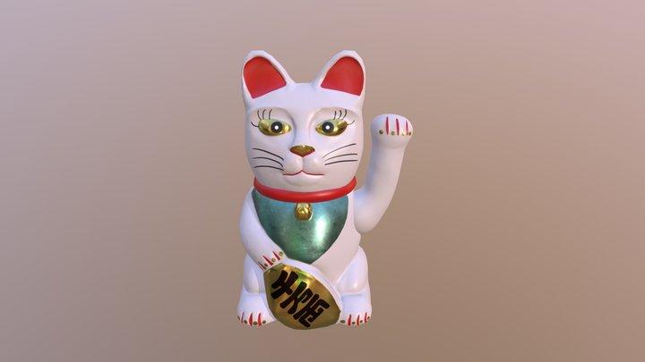 Maneki-Neko 3D Model