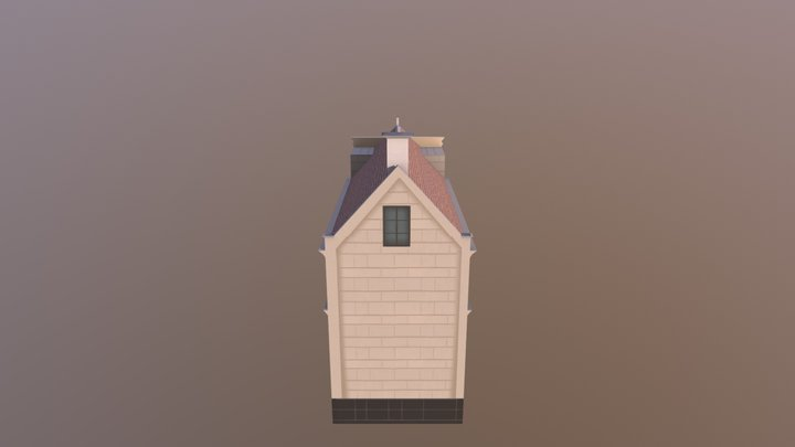 Amusino casino_LowPoly 3D Model