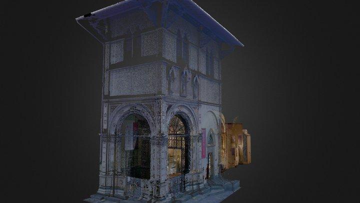 Bigallo Interior 3D Model