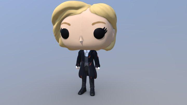 Custom 13th Doctor (Doctor Who) Pop! vinyl 3D Model