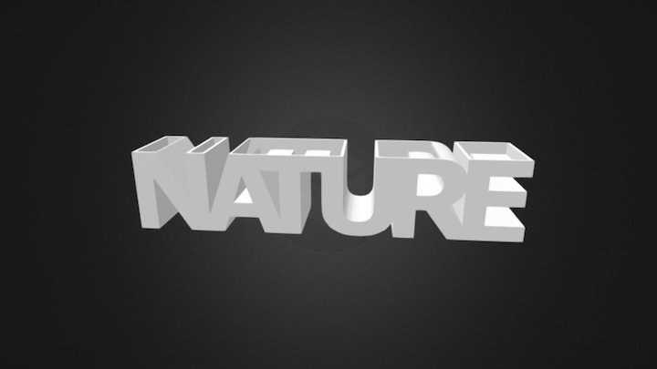 NATURE Planter v1.0. (for 3D printing) 3D Model