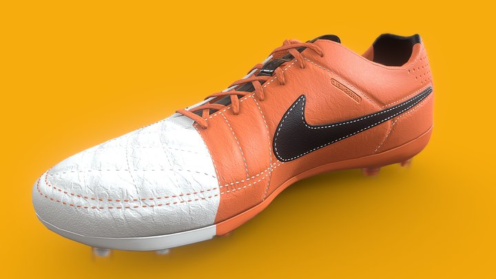 Soccer shoes - Nike Tiempo 3D Model