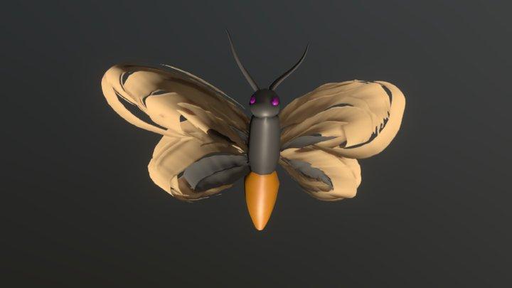 ButterMoth 3D Model