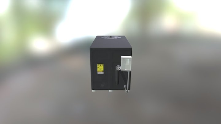 Ac Unit Pbr 3D Model