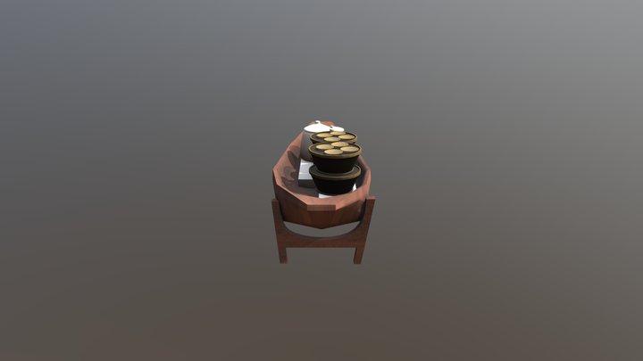 thai boat 3D Model