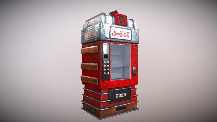 Sparkle-Cola Vending machine 3D Model