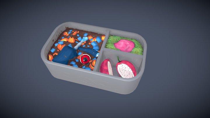 Alien Lunchbox 3D Model
