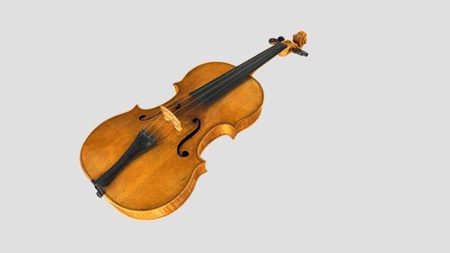 Violin - NA 3D Model