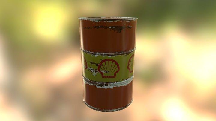 Barrel Prop Pro 3D Model
