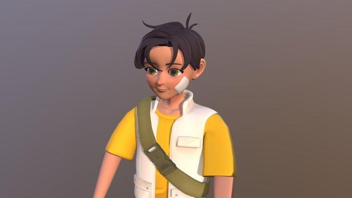 EPOCH-Hugo 3D Model