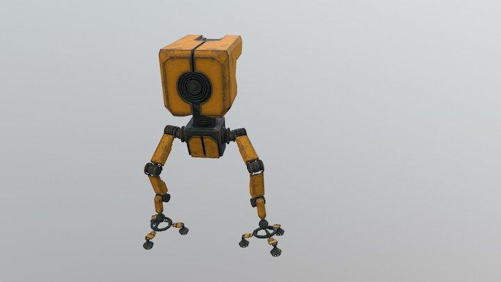 Robot imitation 3D Model