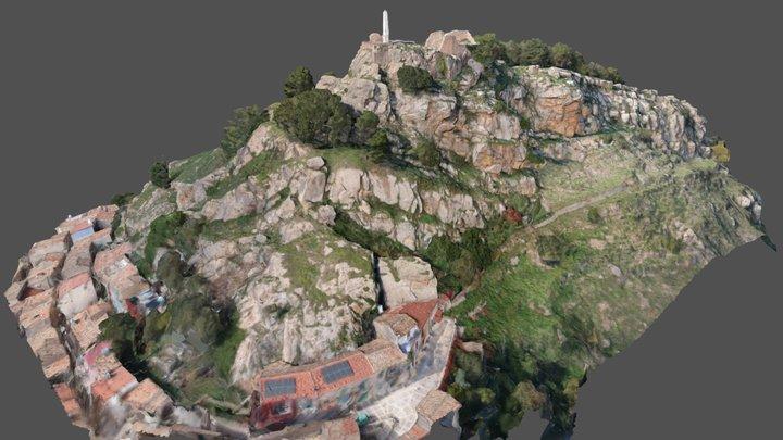 Castello di Mistretta - Modello 3D 3D Model