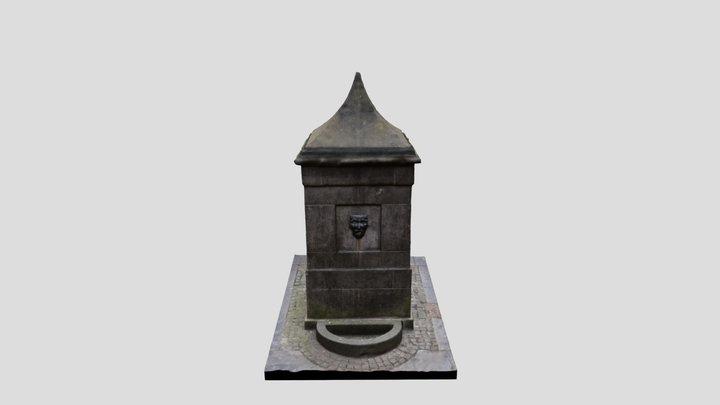 The High Street Wellhead 3D Model