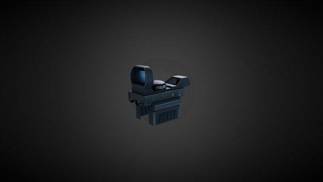 Gun Scope 3D Model