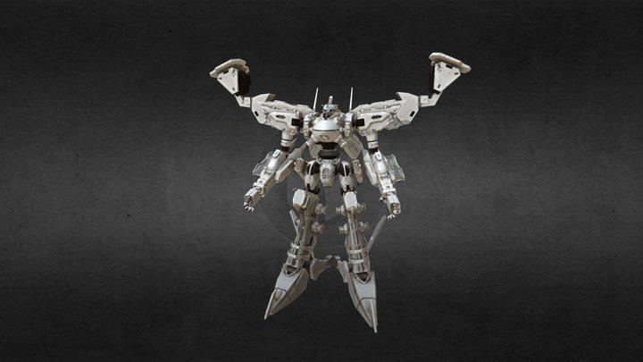 Armored Core White Glint 3D Model