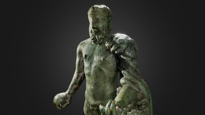 Statuette d'Hercule | Statuette of Hercules 3D Model