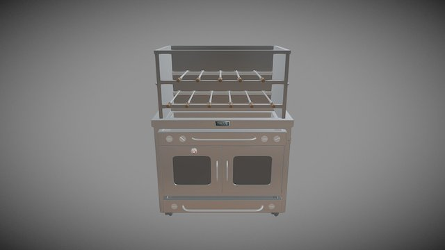 44 Burner Drawer - HBP14— Brazilian Rotizio 3D Model