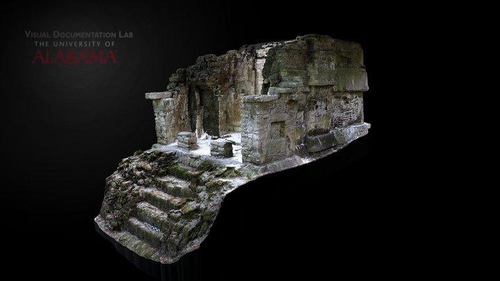 Building B, Group II, Holmul 3D Model