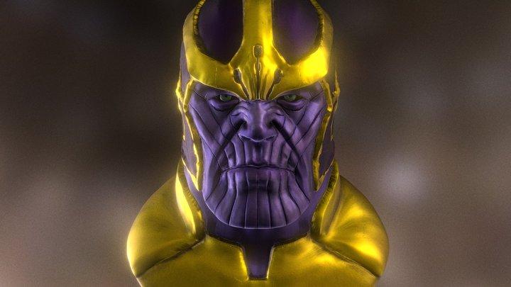 Thanos  (Sculpt+ iPad Pro) 3D Model