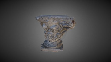 Corinthian Capital 3D Scan 3D Model