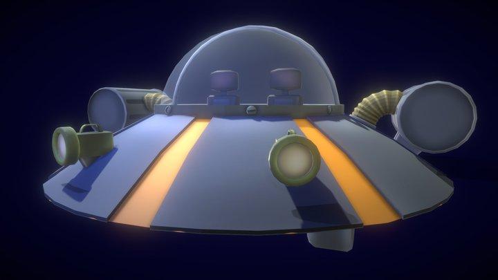 Nave - Rick 3D Model
