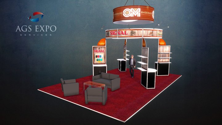Ohserase - 20x30 Booth 3D Model