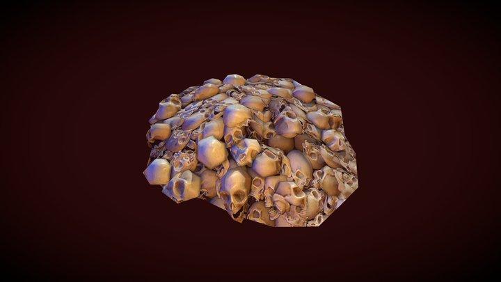 Pile of Skulls 3D Model