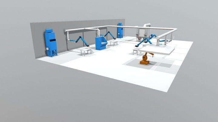 Fabtech layout 2017 3D Model