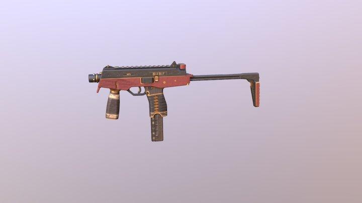 MP9 | Wakizashi 3D Model