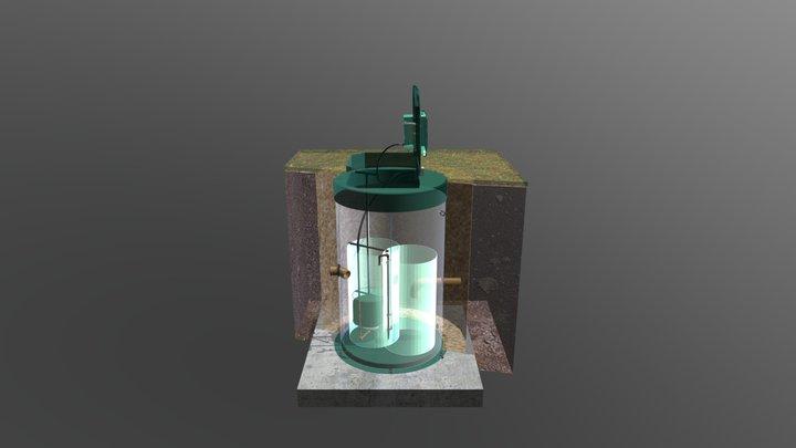 BIOPURIT 2-8 3D Model
