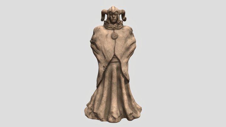 Ramsguard Statue Lowpoly - Portfolio Project 3D Model