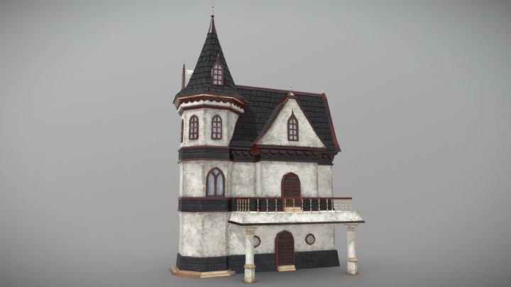 3D modeling neo-gothic building 3D Model