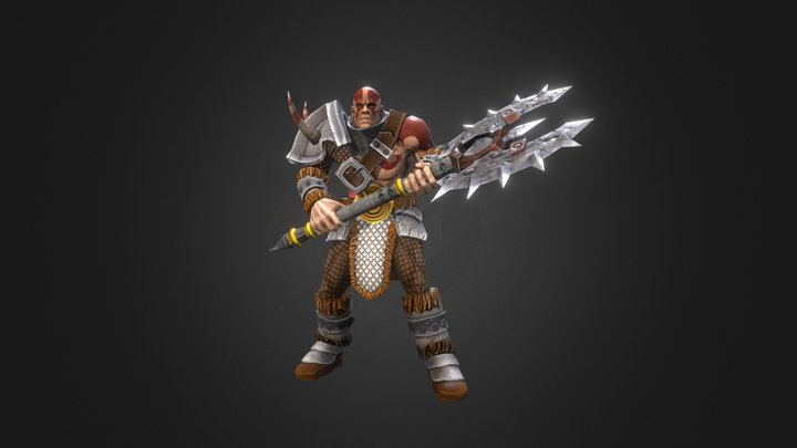 Bear from Siege Of Heroes 3D Model