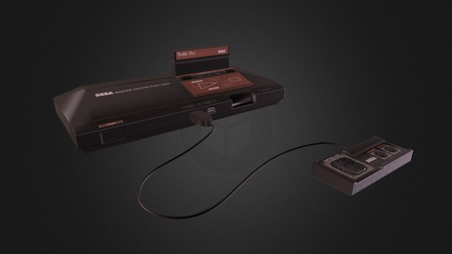 Sega Master System 3D Model