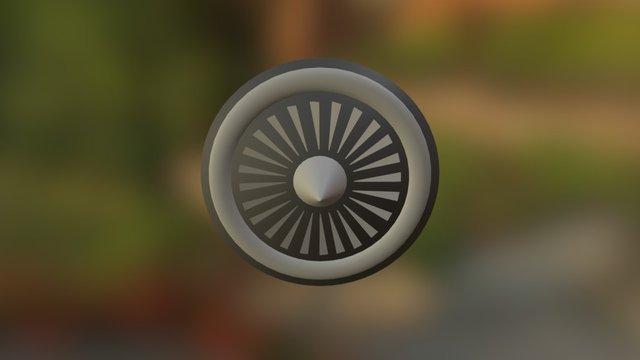 JetFuel Badge 3D Model
