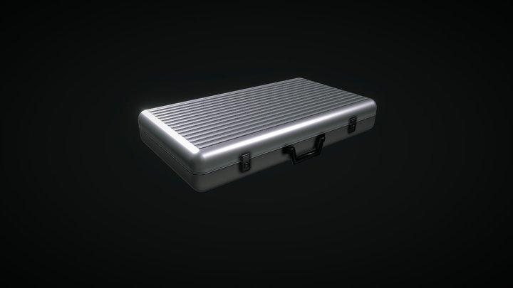 Metal Briefcase 3D Model