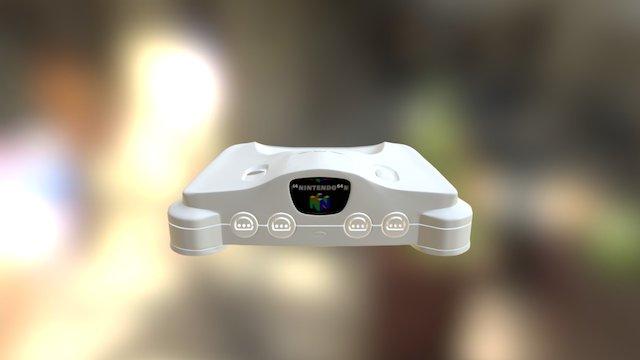 Nintendo64 System 3D Model