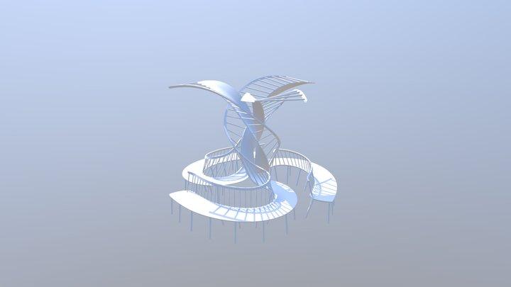 Helix 3D Model