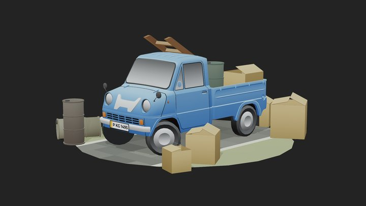 ENVIRONMENT - MOVING AND HAULING 3D Model