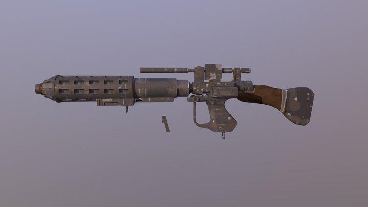 Star Wars: Battlefront 2 E5C 3D Model