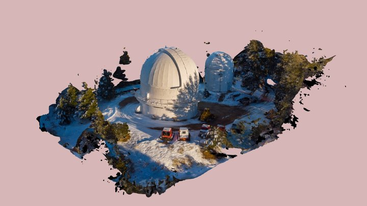 Mount Bigelow Telescopes 3D Model