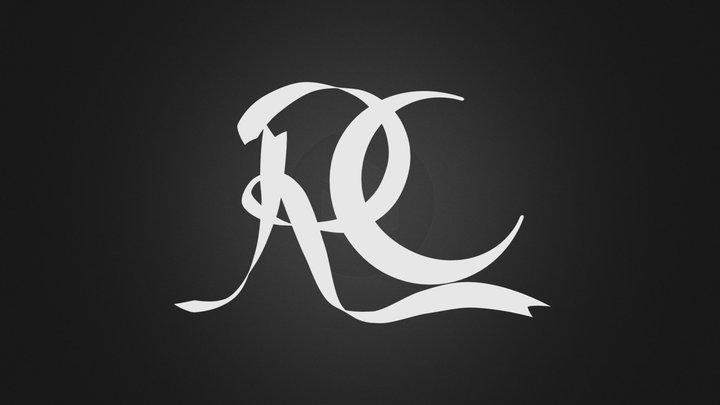 Rapture Costumiers logo 3D Model