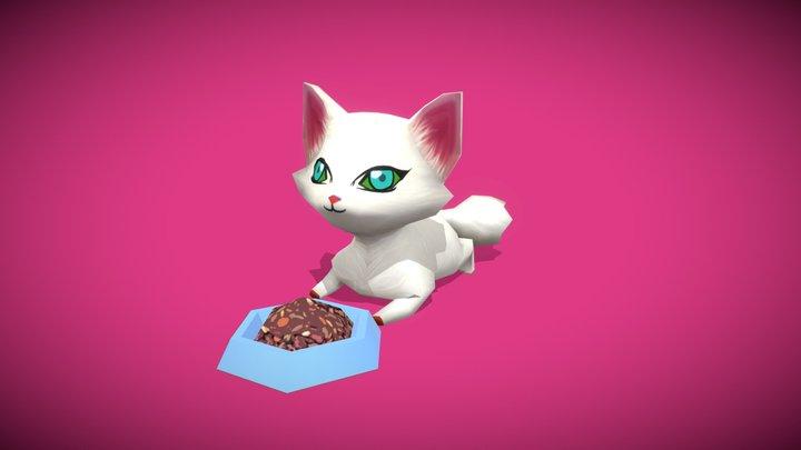 CAT Cute kitten 3D Model