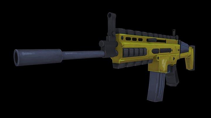 SCAR-00 3D Model