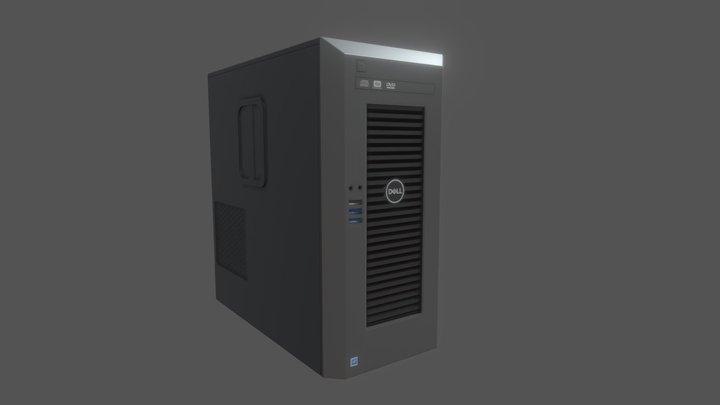 Server (CPU) 3D Model