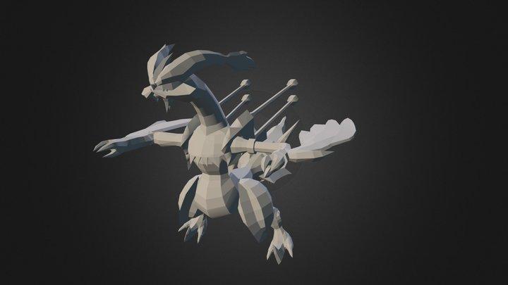 White Kyurem 3D Model