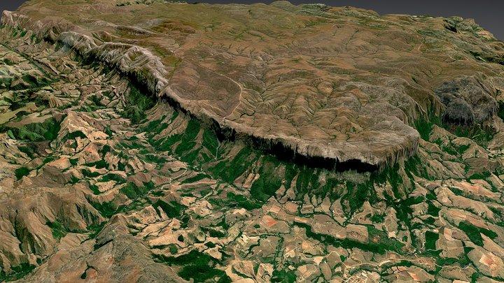 Serra da Canastra 3D Model